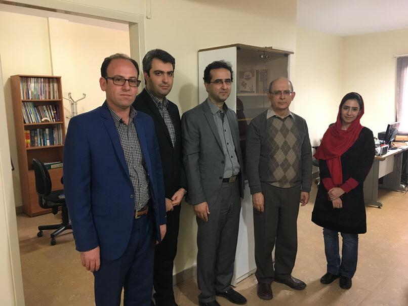 Mr. Mashayekh and Team